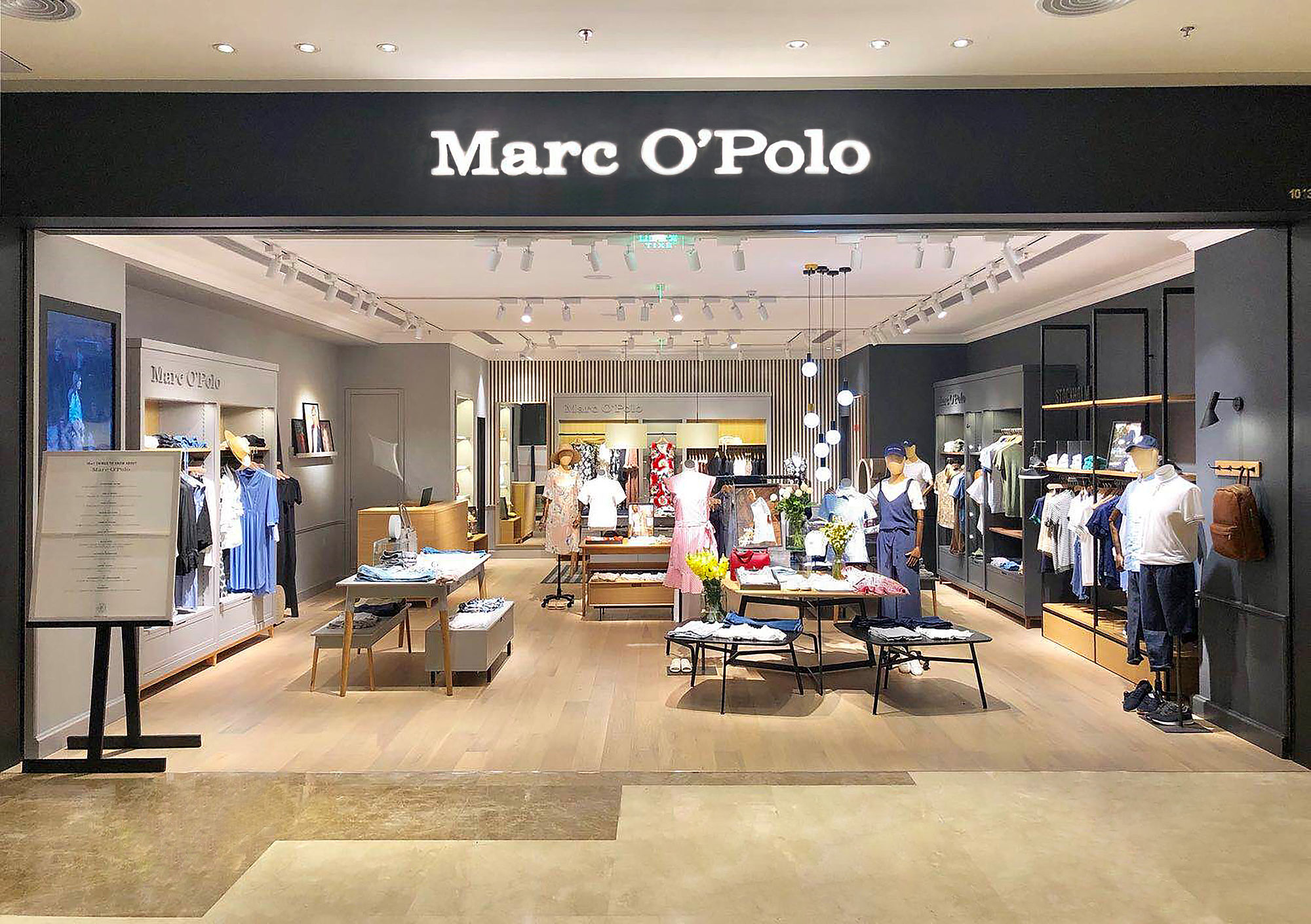 finest selection 2a09e 51397 MARC O'POLO opens its 50th store in China and engages Asian ...