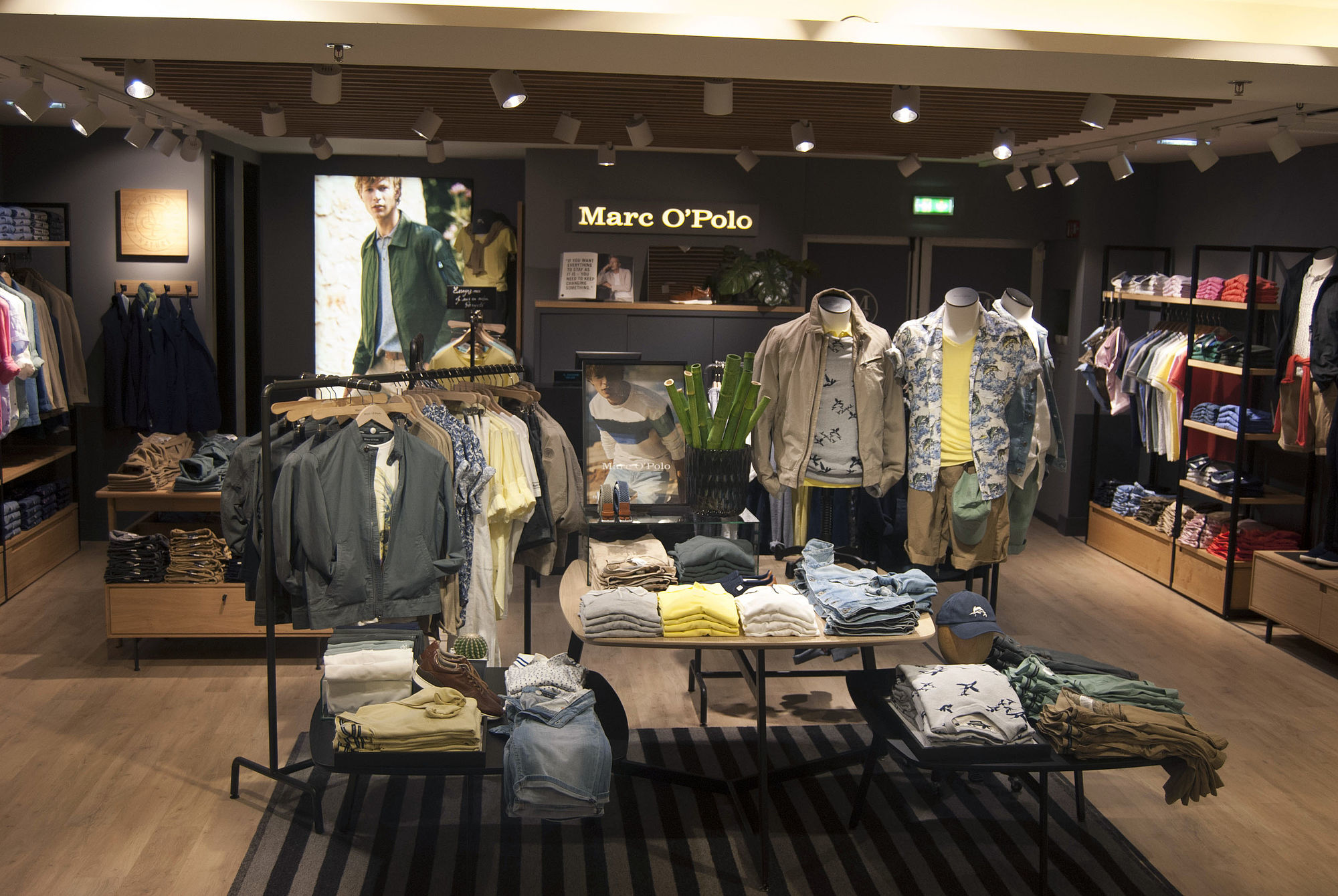 hot sale online ec101 68db3 MARC O'POLO and Galeries Lafayette celebrate the success of ...